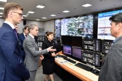 수원시, '도시안전통합센터' 해외에서 잇따라 벤치마킹