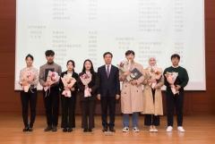 전북대, 6대 핵심 역량 우수 학생에 장학금 수여