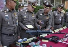 태국 경찰, '아세안 회의' 앞두고 총기 단속…권총 등 35정 압수