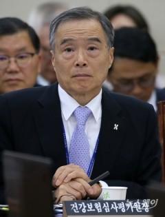 종합국정감사 출석한 김승택 건강보험심사평가원장