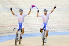 한국 사이클, 2020 아시아 트랙 선수권 대회 종합우승