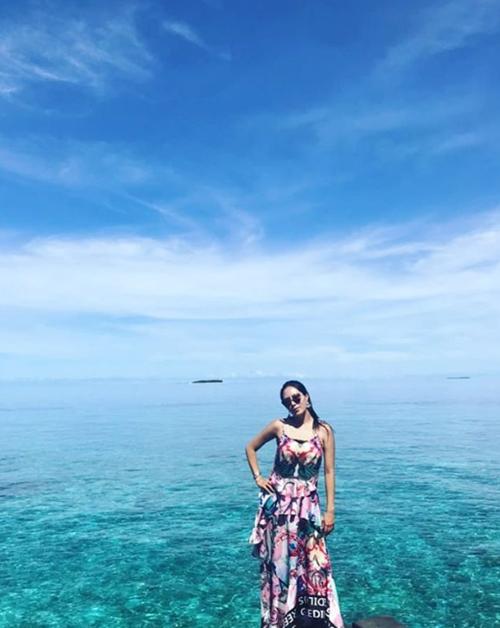 """'동상이몽' 강남♥이상화, 행복한 신혼여행…""""하늘, 바다, 와이프 다 이쁘네요"""""""