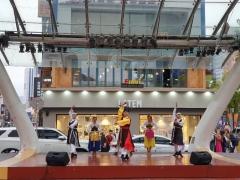 광주프린지페스티벌, 대구 동성로에서 야외공연 펼쳐