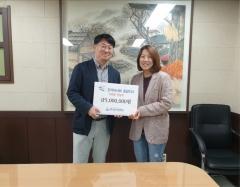 한국마사회 중랑지사, 장애인 급식소 시설 개선 지원금 전달