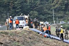 농어촌공사, 경남 김해 진례저수지에서 지진 대응 훈련