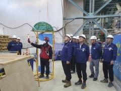 한국중부발전, 자체개발품 `신호수 프로텍터` 건설현장 적용