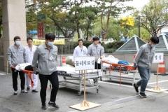 인제대학교 일산백병원, '민관합동 소방훈련' 실시