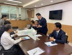 김상돈 의왕시장, 이재정 경기교육감 만나 '내손동 중학교 설립' 논의