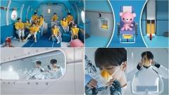 대한항공, 기내 안전비디오 형식 파괴… '슈퍼엠·NCT127' 출연