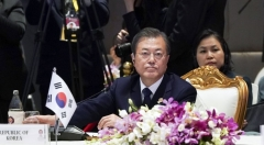 """文, 세계최대 FTA 'RCEP' 협정문 7년만에 타결에 """"자유무역 가치 확산 기대"""""""
