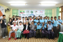 새마을금고 해외봉사단 'MG 임팩트', 미얀마 현지 봉사활동 실시