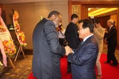 백선기 칠곡군수, 에티오피아 총리 '노벨평화상' 축하 리셉션 참석