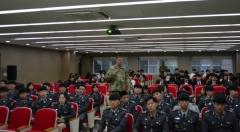 대구과학대, 주한미군 대령 초청 '전문가 특강' 실시