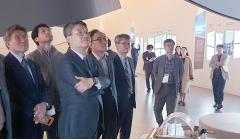 박상철 호남대 총장, '삼성혁신박물관' 방문