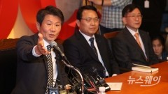 아시아나항공 투자계획 발표하는 정몽규 회장