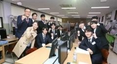 영진전문대, 일본전기반 1기 81% 일본기업 취업