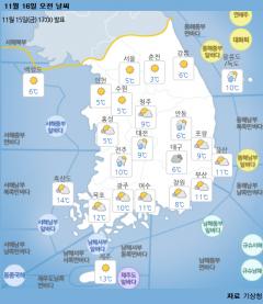 맑고 포근한 주말…충청·경북 미세먼지 '나쁨'