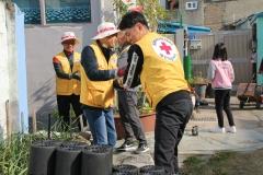 기아차 광주공장 적십자 봉사회, 사랑의 연탄 나눔