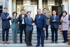 김삼호 광산구청장, 우즈베키스탄·카자흐스탄과 교류협력 추진