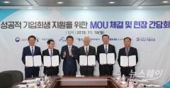 '성공적 기업회생 지원을 위한 MOU 체결'