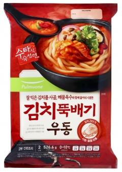 풀무원식품, 김치뚝배기 우동 선봬