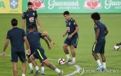 브라질, 베스트11 공개…한국vs브라질 평가전 강한 '자신감'