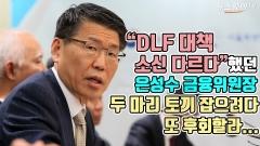 """DLF 대책 소신 다르다"" 했던 은성수 위원장…두 마리 토끼 잡으려다 또 후회할라..."