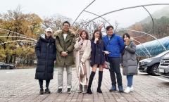 안양시, 태국 '인플루언서' 안양예술공원 방문