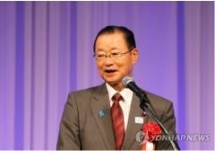 """日 여당 중진 의원 """"아베, 강제징용 '문희상 해법'에 부정하지 않았다"""""""