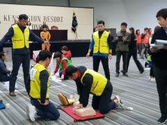 경주 재난안전네트워크, 경북 재난인명 구조구급 경진대회 '우수상'
