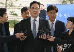 이재용 재판에 쏠린 눈…10시간 전부터 '대기 행렬'
