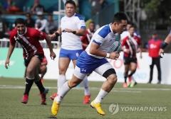 한국 남자 럭비 대표팀, 사상 첫 올림픽 본선 진출