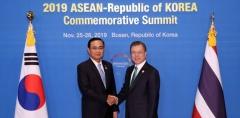 """文 대통령 """"태국, 신남방정책의 가장 중요한 파트너"""""""