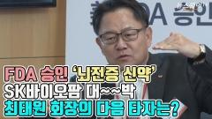 FDA 승인, '뇌전증 신약' SK바이오팜 대~~박…최태원 회장의 다음 타자는?