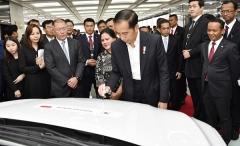 정의선 부회장, 인도네시아에 2兆 투자…현대차, 아세안 진출 전진기지 구축