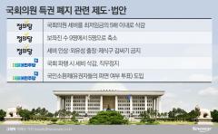 여전한 '배지 권력'…말뿐인 특권 없애기