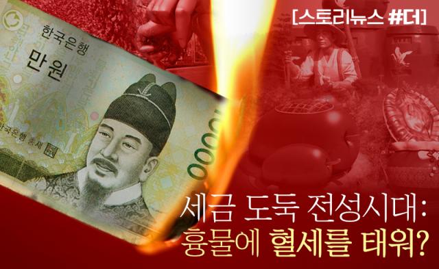 세금 도둑 전성시대: 흉물에 혈세를 태워?