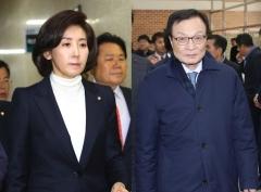 """나경원 '북미회담 자제' 발언 논란…이해찬 """"국가 망신"""""""