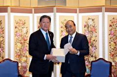 허명수 GS건설 부회장, 베트남 총리와 상호 협조 방안 논의