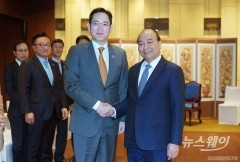 삼성 이재용, 베트남 총리와 면담···현지 투자 논의한듯