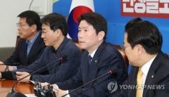 """이인영 """"한국당과 더이상 대화 무의미…협상의 정치 종언"""""""