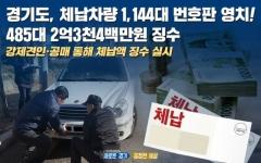 경기도, 자동차세 체납차량 1144대 단속…2억3400만원 징수