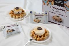 하겐다즈, 신제품 '아이스크림&디저트 와플' 출시