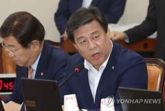 자유한국당 김선동, 원내대표 출마…경선 5파전