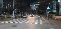 경북도, 어린이보호구역에 '지능형 횡단보도' 설치