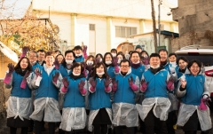 인천시설공단, `사랑의 연탄나눔` 봉사활동 펼쳐