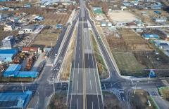 구례군, 국도17호선 구례 봉서교차로 개선공사 완료