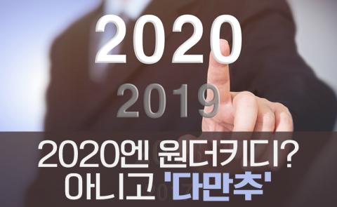 2020엔 원더키디? 아니고 '다만추'
