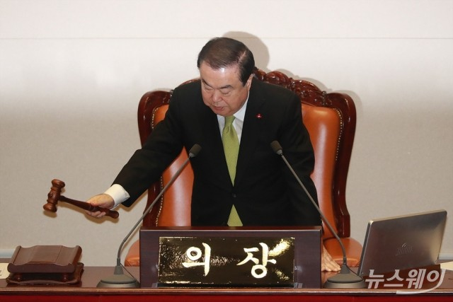 국회, 필리버스터 논란에 13일 본회의 무산
