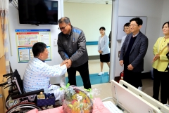 권홍사 반도건설 회장 건설재해근로자 치료비 지원금 3년간 '3억원 기탁'